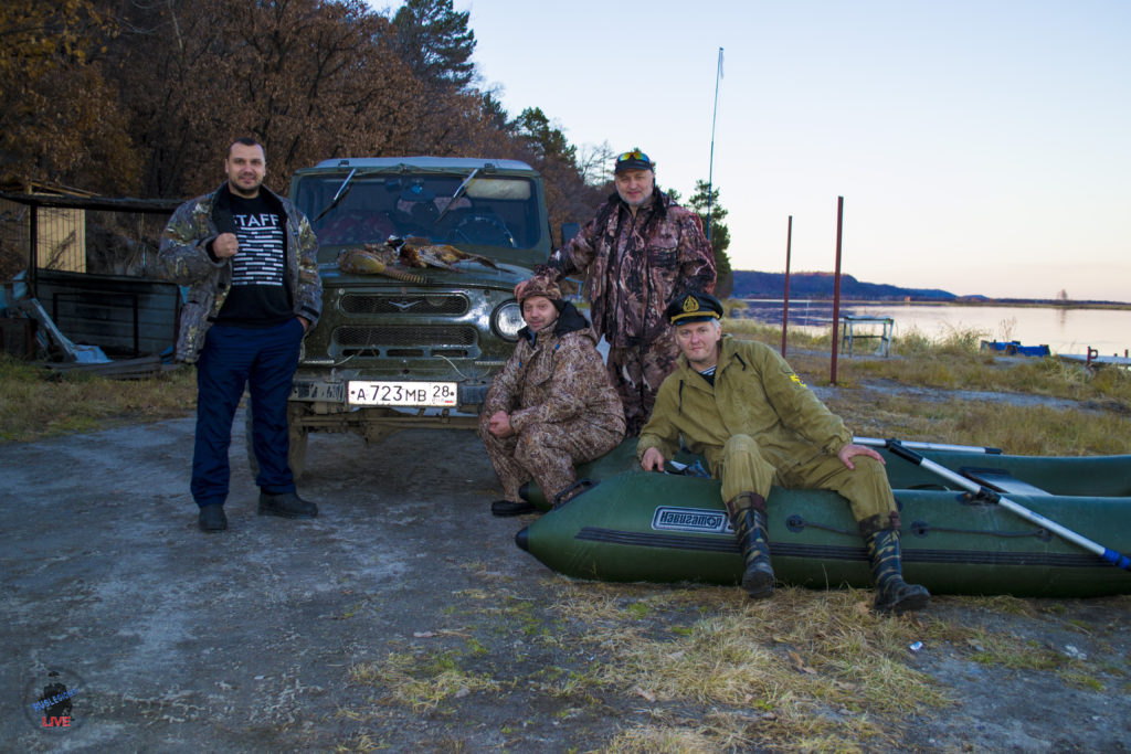 Охота Трассиян в Прядчино 2017