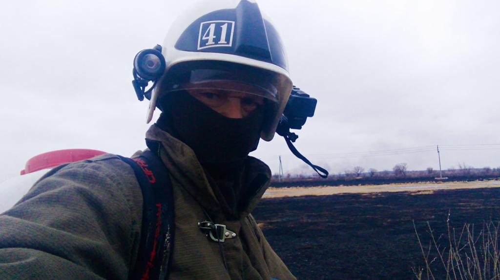 Работа пожарных ПЧ 41 в пожароопасный период