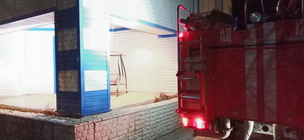 Пожар 37. Усть-Ивановка.