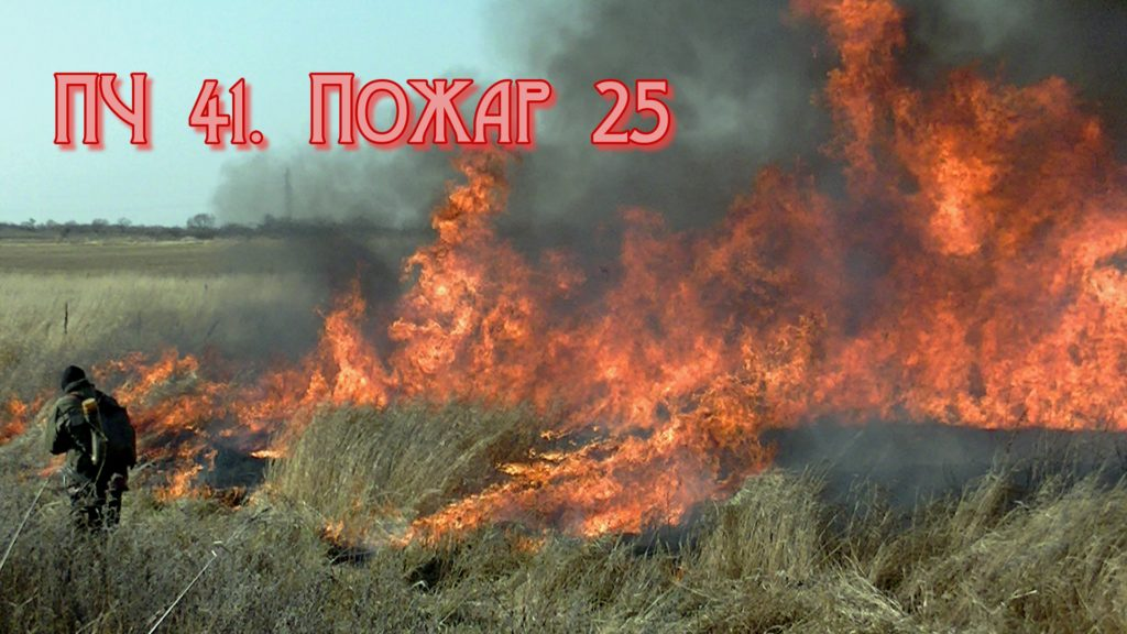 ПЧ 41. Пожар 25